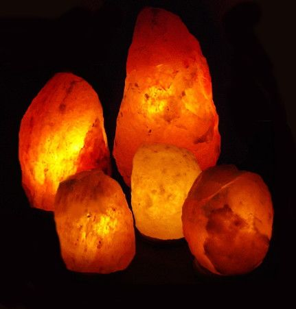 Real Himalayan Salt Lamp Genuine Himalayan Salt Lamps For The Entire Home  Salt Lamp Pack