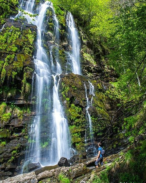 Cascada Seimeira, todo un espectáculo. #Asturias #España #Spain #visitSpain #visitAsturias #ParaísoNatural #NaturalParadise #SpaininMYHeart #cascada #waterfall #naturaleza #nature