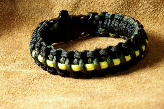 Wildlands Firefighter Paracord Bracelet Anklet By Hbarncraftworks