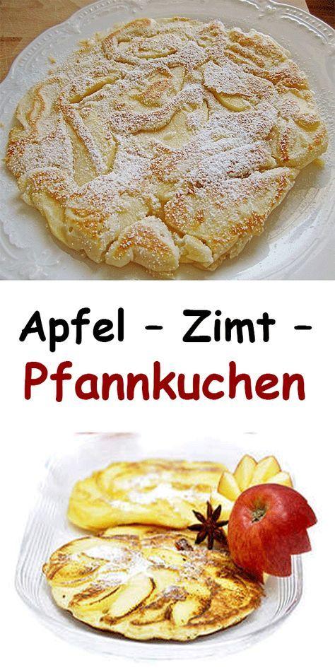 Apfel – Zimt – Pfannkuchen - alltagtricks #apfelmuffinsrezepte