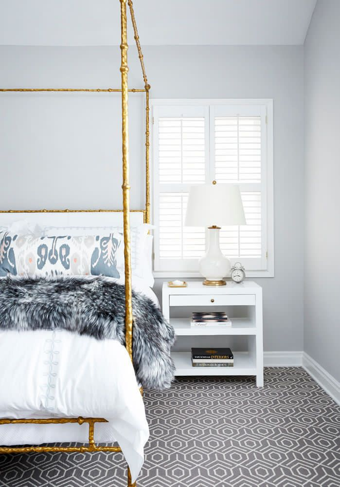 Light Grey Gold And Navy Grey And Gold Bedroom Home Home Decor
