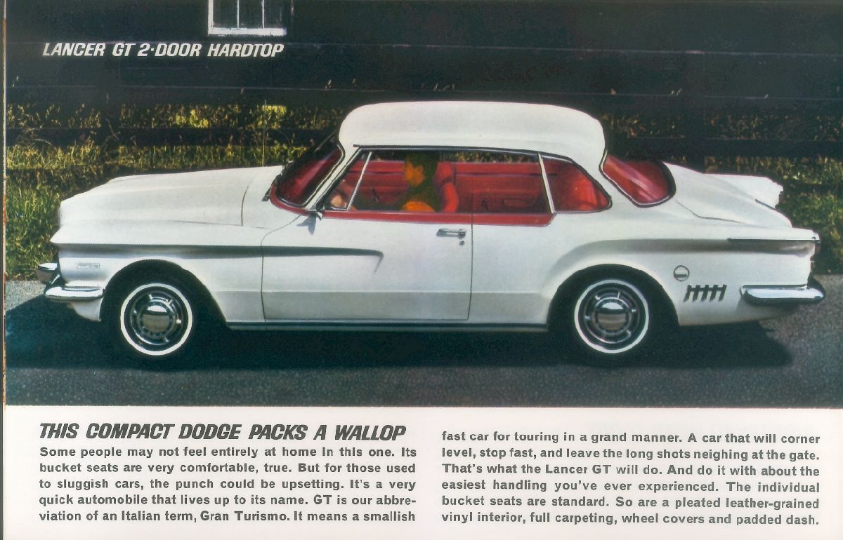 Dodge Lancer Interior