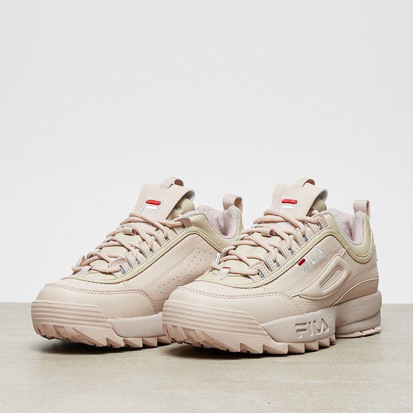 fila disruptor low peach blush shoes pinterest chaussure chaussures femmes et basket femme. Black Bedroom Furniture Sets. Home Design Ideas
