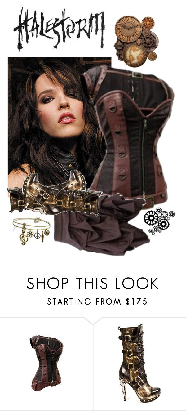"""""""Halestorm!"""" by rubysal ❤ liked on Polyvore featuring Sweet Romance and halestorm"""