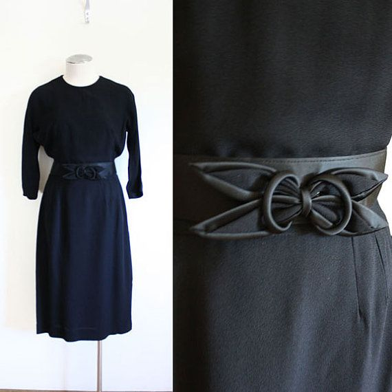 50s Nancy Allen Bombshell Dress  M by nichestyle on Etsy, $54.99