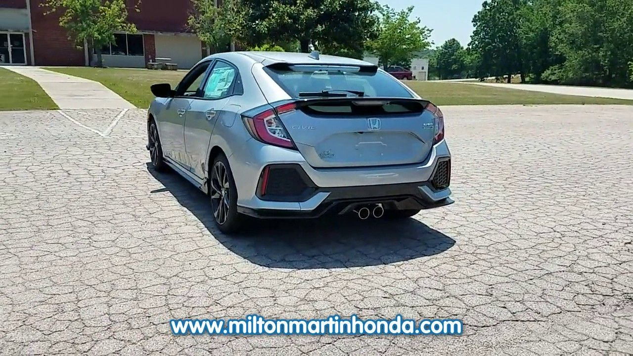 NEW 2017 Honda CIVIC HATCHBACK SPORT TOURING CVT at Milton