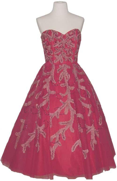 vintage dresses | Filed in: vintage prom dresses | caroll marshall ...