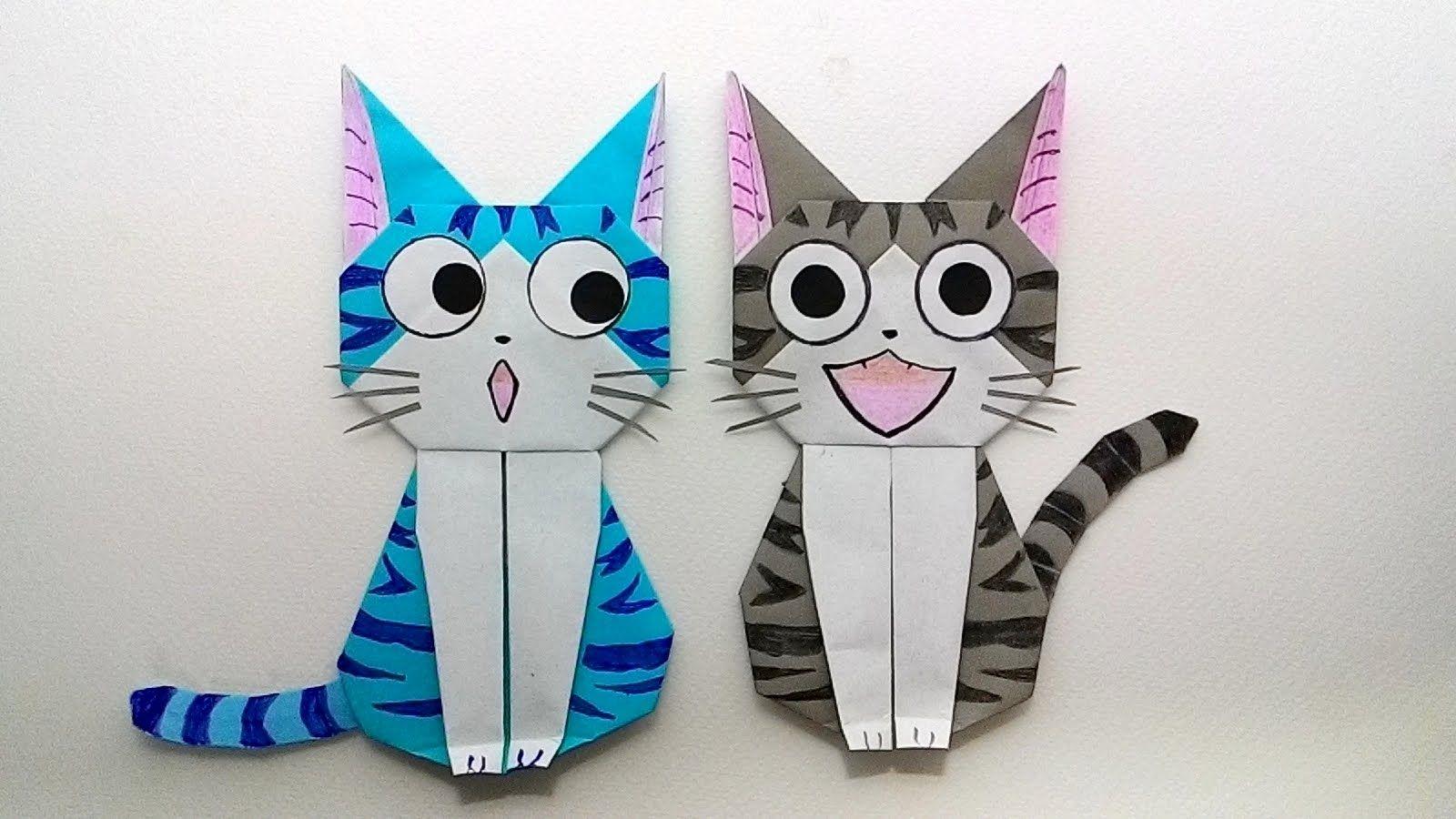 Origami Cat Chi S Sweet Home พ บกระดาษ แมวจ บ านน ต องม เหม ยว ศ ลปะการพ บกระดาษ ส ตว ต กตา