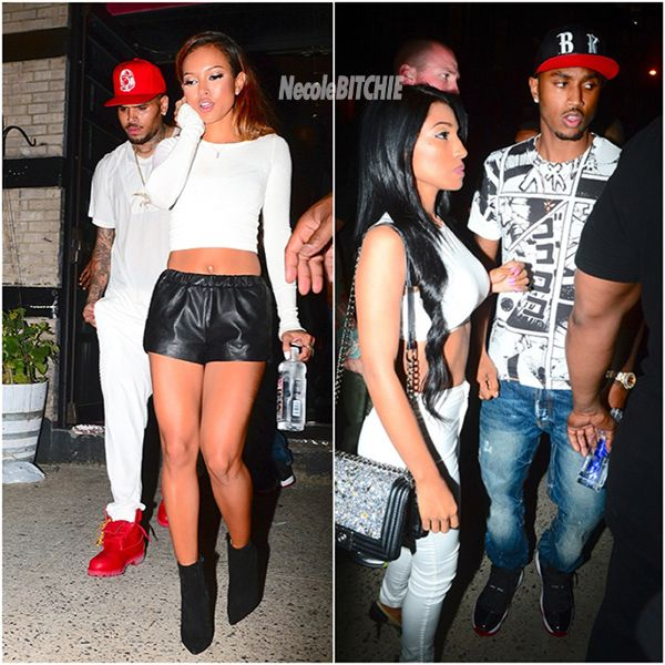 who is dating chris brown 2014 Karrueche tran knew the man she was detailing with when she first started dating chris brown, she just didn't want to believe it.