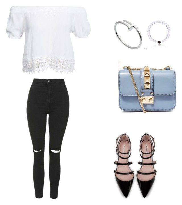 Cute? by vdilx on Polyvore featuring polyvore, fashion, style, Boohoo, Topshop, Zara, Valentino and Cartier