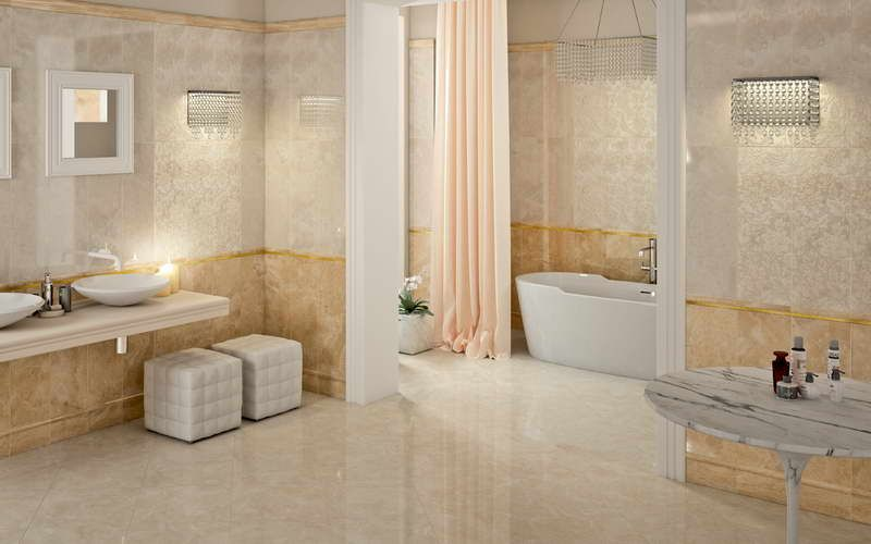 Merveilleux Bathroom Ideas With Ceramic Tile