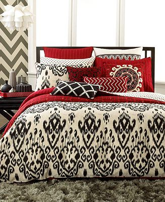 $109.99 INC International Concepts Bedding, Ikat Queen ...