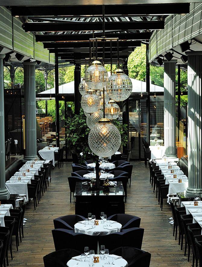 Restaurante La Gare Por Laura Gonzalez Design De Restaurant