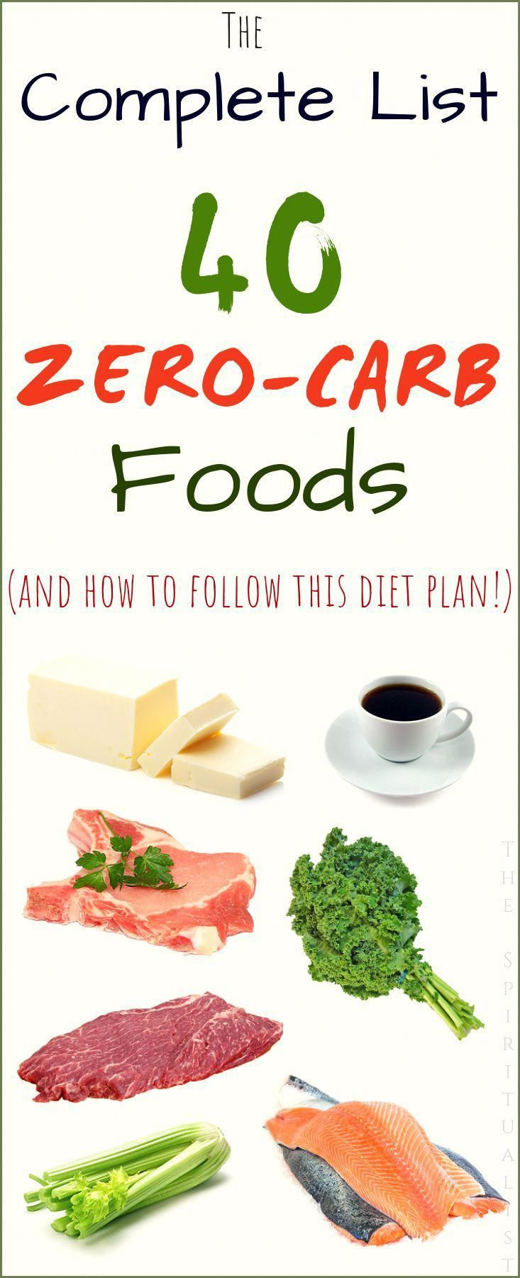 The complete list of ZEROCARB foods. healthyfoodlist