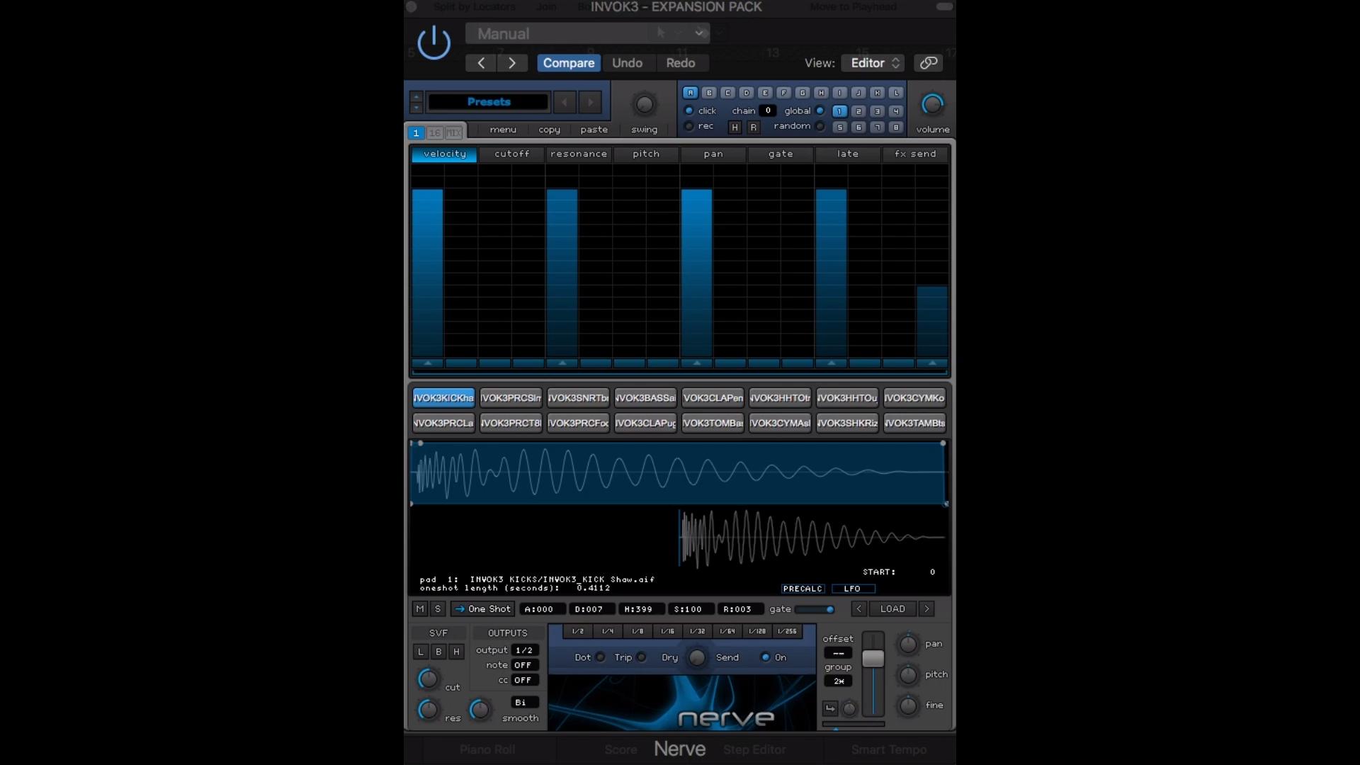 Xfer Nerve Drum Machine Preset Sample Pack Invok3 House Spirit Video Video House Music Techno Music Dance Music