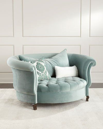 Photo of Harlow Sage Cuddle Chair