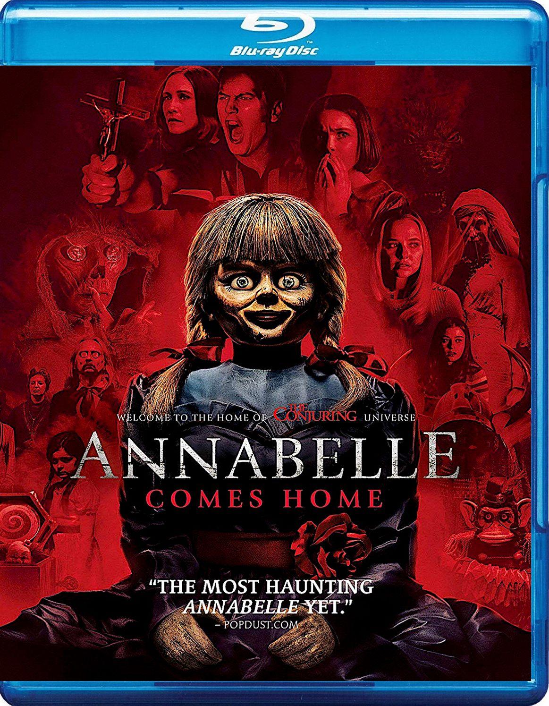 ANNABELLE COMES HOME BLURAY (WARNER) Blu ray, Dvd
