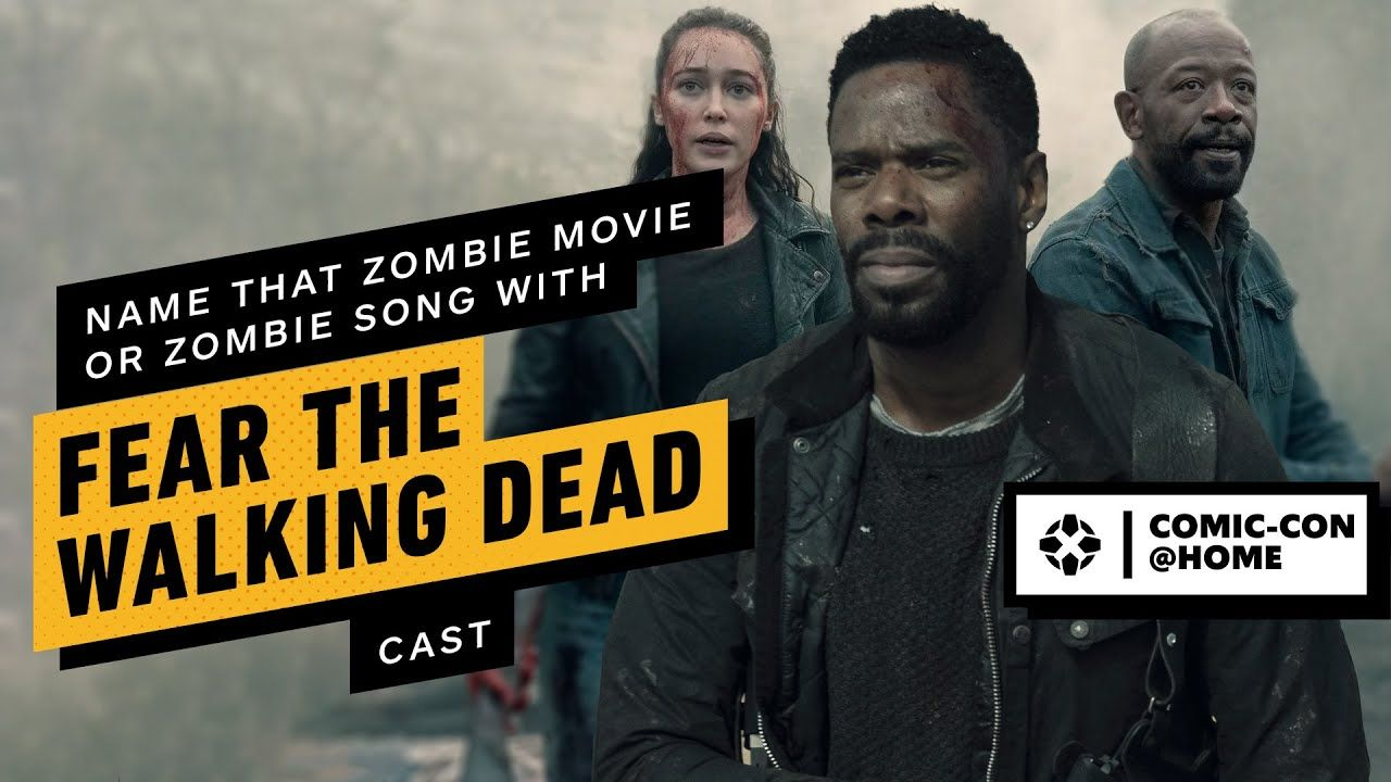 Cast of Fear The Walking Dead Name That Zombie Movie or