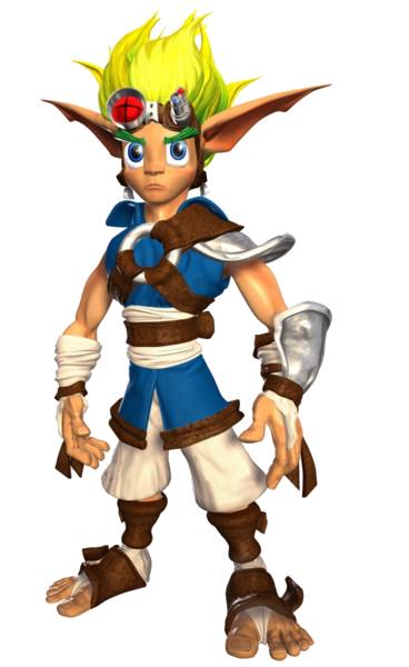 Jak And Daxter Character Buscar Con Google Jak Daxter Daxter Game Vintage Video Games