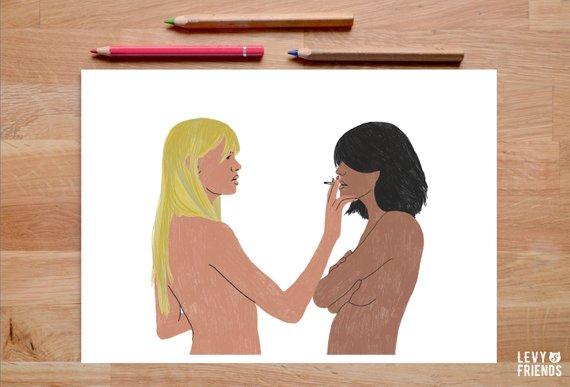 nina naked