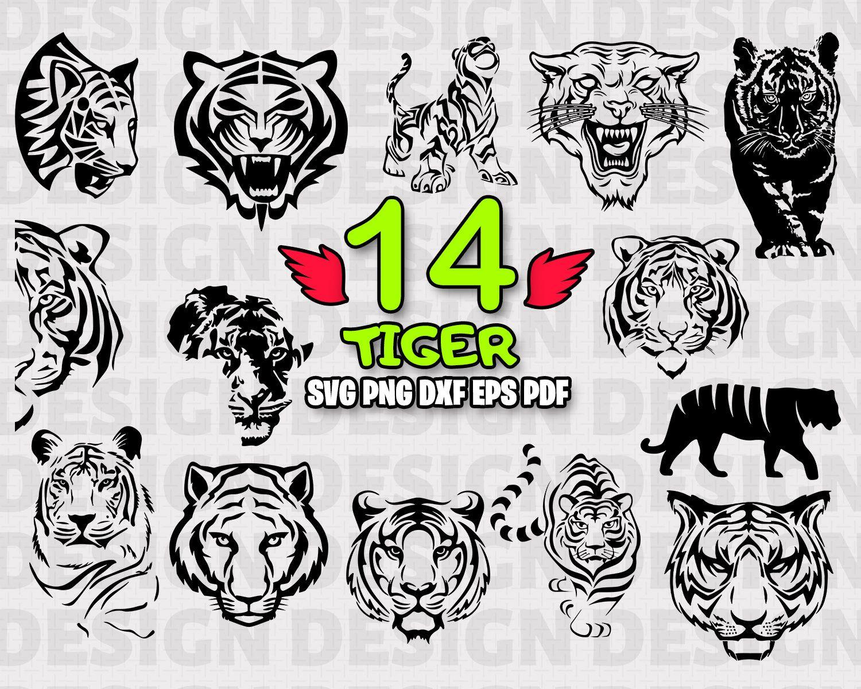 Tiger Svg Tigers Svg Svg Files Tiger Clipart Animal Svg Tiger Tiger Silhouette Wild Animals Svg Silhouette Svg Svg Tiger Silhouette Stencil Vinyl Svg