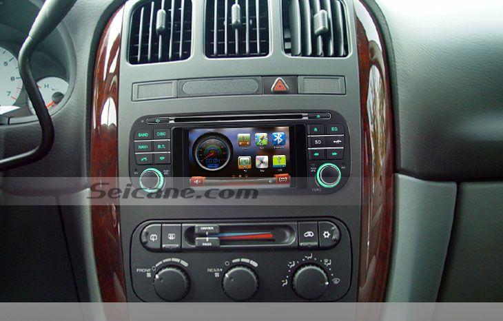 1999 2000 2001 2004 Jeep Grand Cherokee Head Unit Auto A V Dvd Radio Gps Navigation Bluetooth Music Tv Tuner Stee Jeep Grand Cherokee Jeep Grand Gps Navigation