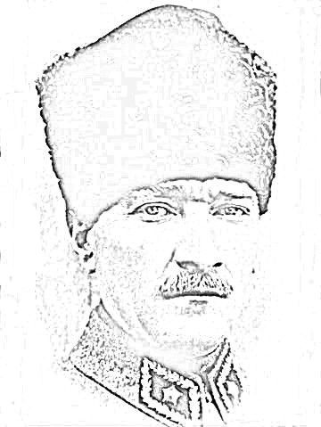 Ataturk Ataturkboyama Boyama 10kasimboyama Cizim Balerin Boyama Boyama Sayfalari