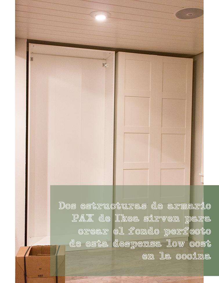 Un gran armario dentro de la cocina cocinas pinterest cocinas armario pax y cocina ikea - Armarios de cocina ikea ...