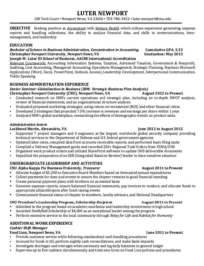 Resume For Cashier Shift Manager  HttpResumesdesignComResume