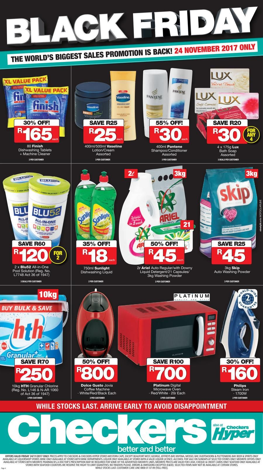 Black Friday South Africa Specials Black Friday Black Sale Promotion