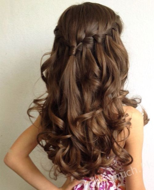 9 Easy Party Hairstyles For Your Little Princess Little Girls