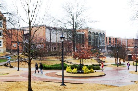Campus Of University Of North Alabama Florence Alabama Sweet