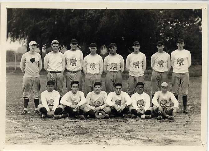 Freshman Baseball Team For The 1926 Season University Of Redlands Redlands University
