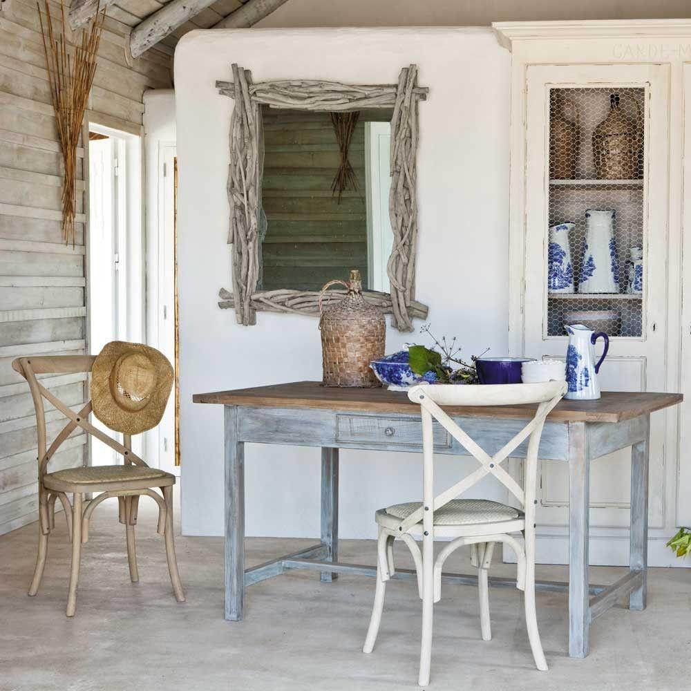 Specchio maison du monde shabby chic provenzale country campagnolo pin - Pinterest maison du monde ...