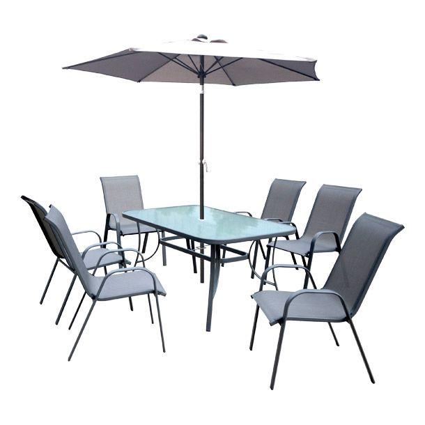 Juego de jardín ideal para exteriores. 6 sillas estacionarias en ...