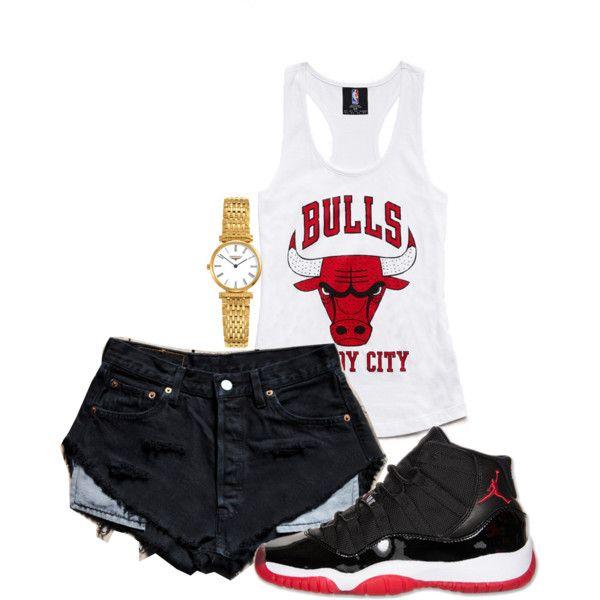 Not a bulls fan but... Bulls City hot shit summer outfit