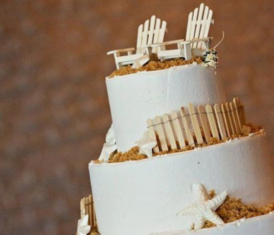 Miniature Adirondack Chair Wedding Cake Toppers by susanaklein, $22.00