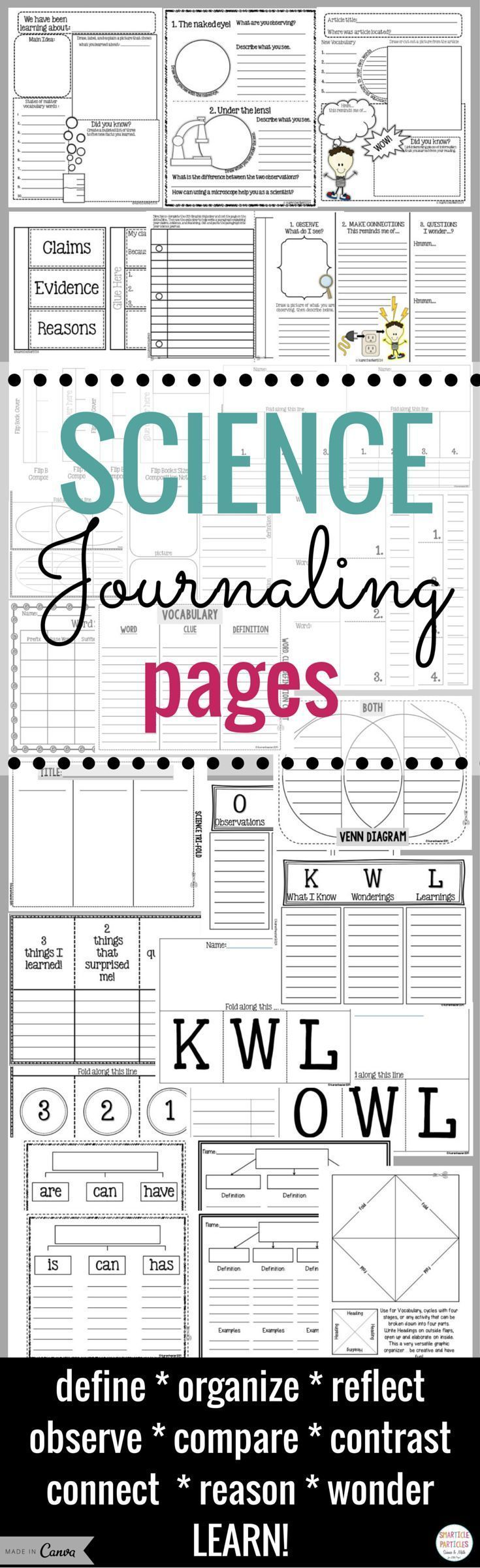 Interactive notebook science journaling pages venn diagrams and interactive notebook science journaling pages pooptronica Gallery