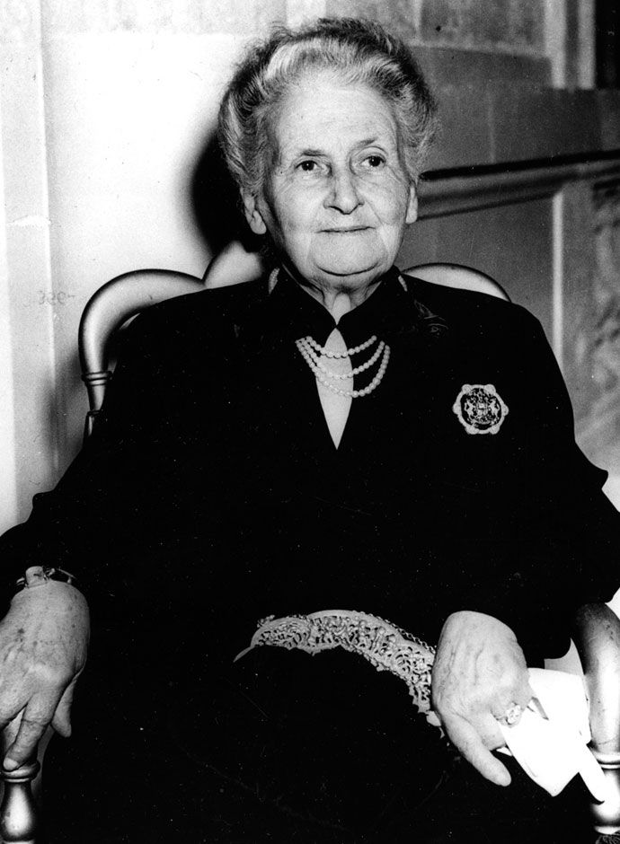 what is maria montessori known for