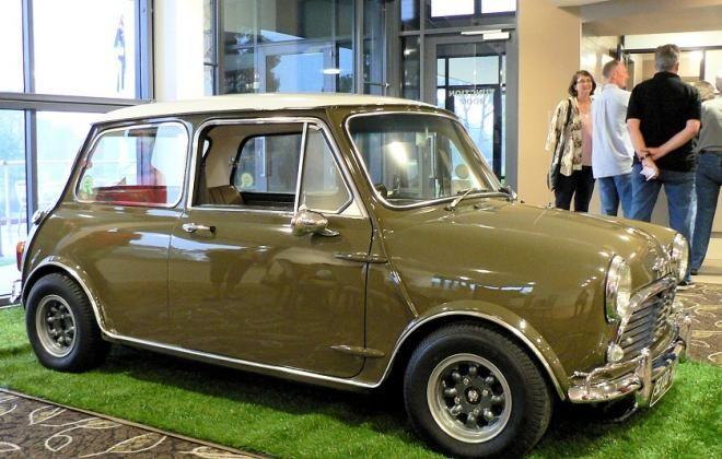 Kelp Beige Mk1 Morris Cooper S Australia Mini Cooper S Mini Cooper Custom Mini Cooper Classic