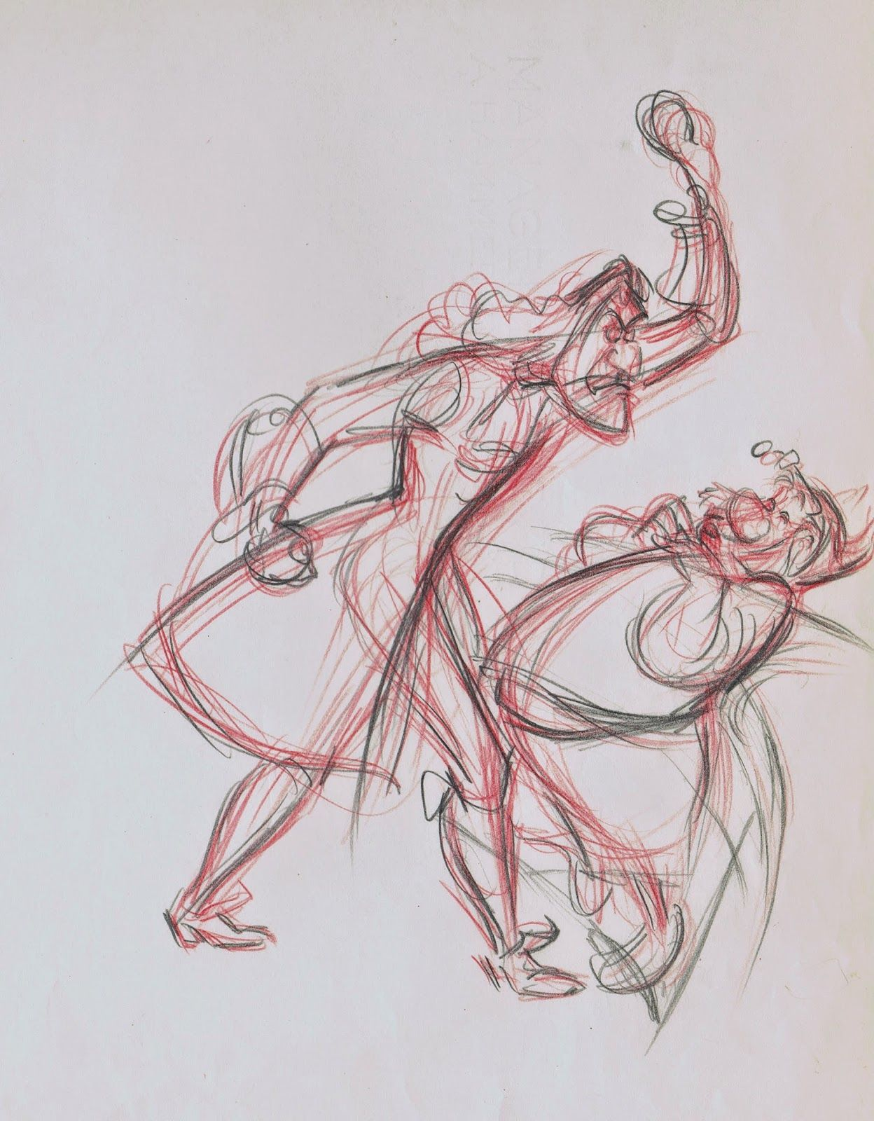 Captain Hook And Smee From Disneys Peter Pan By Frank Thomas