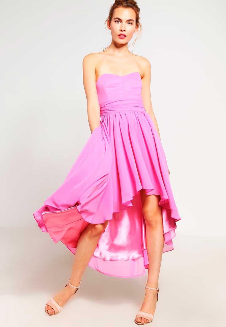 vestidos-rosa-fiesta | Dresses / Fashion | Pinterest | Vestido ...