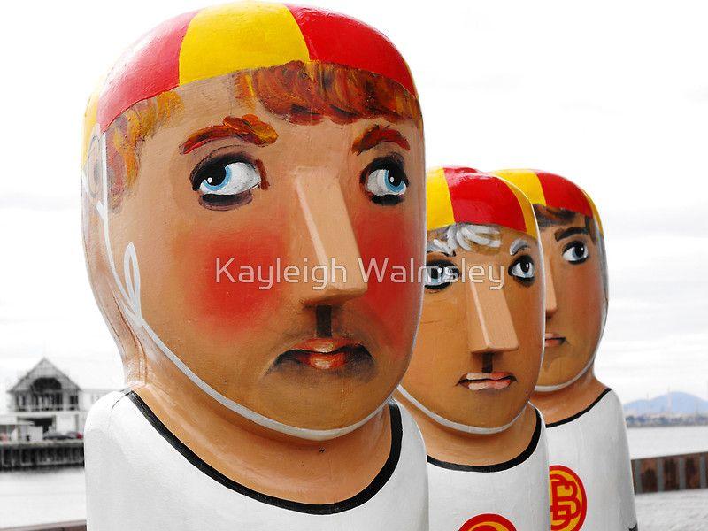 Life Saver Bollards by Kayleigh Walmsley