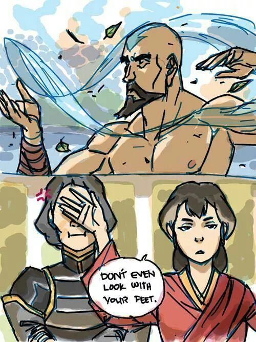 I Know About Your Little Earthbending Tricks Avatar Airbender