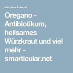 Oregano - Antibiotikum, heilsames Würzkraut und viel mehr - smarticular.net