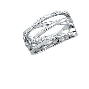 14kt White 1/3 CTW Diamond Fashion Ring