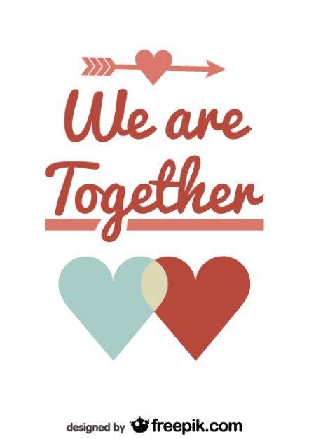 Download Download Couple Symbol Valentine's Day Retro Card Design ...