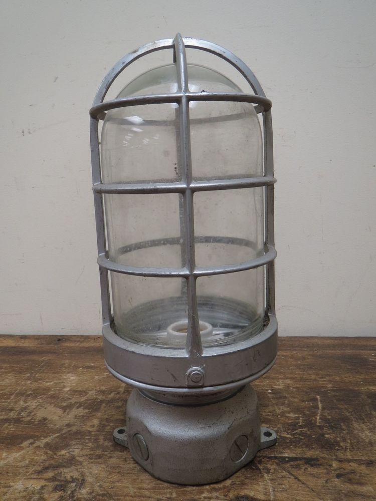 vintage huge 14 industrial appleton explosion proof light fixture