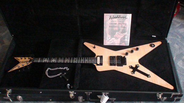 washburn usa dime 3 southern cross black back 97 ultra rare dimebag guitar electric guitars. Black Bedroom Furniture Sets. Home Design Ideas