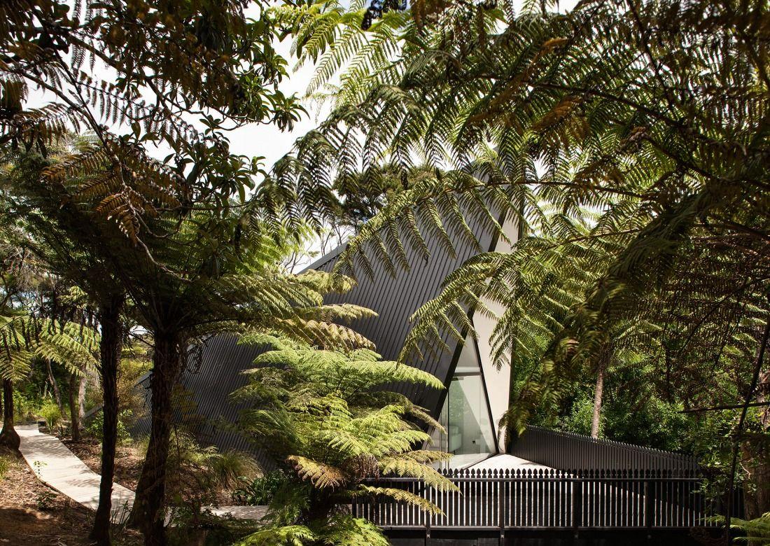 Architags architecture  design blogchris tate tent house waiheke also rh pinterest